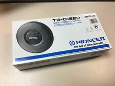 "Vintage PIONEER TS-G1622 16cm 6 1/4"" 60W PAIR CAR SPEAKERS 2WAY Coaxial NOS"