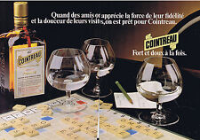 PUBLICITE ADVERTISING 054 1979 COINTREAU liqueur extra dry  (2 pages)