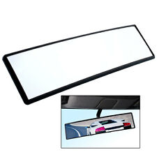 Car Auto Large Angle 300mm Wide Curved Clip On Rear View Rearview Convex Mirror