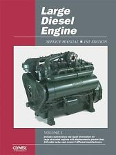 Large Diesel Engine Clymer Repair Manual Case Deere Lister Ford IH Perkins LDS1