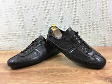 Prada Men's Brown Glove Soft Leather  trainers sneakers UK 9 US 10 EU 43