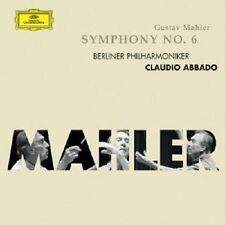 """CLAUDIO ABBADO """"MAHLER: SINFONIE 6"""" CD NEUWARE"""
