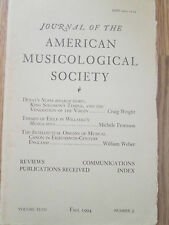 Journal American Musicological Society - Themes of Exile Willaert's Musica Nova