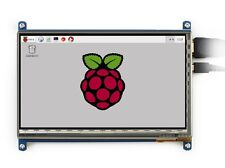 "New 7"" Capacitive Touch Screen LCD Display IPS 1024x600 HDMI For Raspberry Pi"
