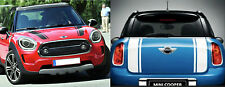 MINI COUNTRYMAN VINYL BONNET AND BOOT STRIPES - Various colours