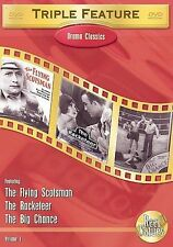 Drama Classics Triple Feature, Vol. 1 The Flying Scotsman / The Racketeer / The