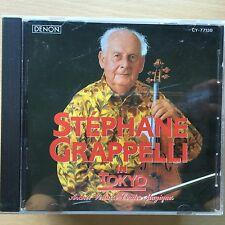 Stephane Grappelli in Tokyo | Rare CD French Jazz Violinist