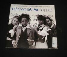 ETERNAL POSTER PICTURE SLEEVE 45 - SO GOOD 1990 GIRL R&B SOUL