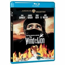 THE WIND AND THE LION (1975 Sean Connery)-  Blu Ray - Sealed Region free for UK