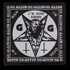 GG Allin - PATCH (gewebt / woven)