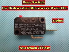 Door Switch for Dishwasher, Microwave, Oven - Suits many OEM Brand (E66) New