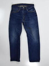 Vintage 60s BIG E LEVIS 502 - 0117 Red Line Selvage Blue Denim Jeans Men 29 x 27