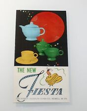 1965 Fiesta Ware Ad Price Guide List Sales Brochure Free Shipping!