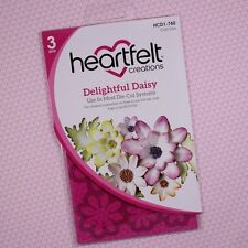 Heartfelt Creations Cut&Emboss Dies by Spellbinders ~Delightful Daisy HCD1 760