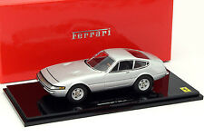 Ferrari 365 GTB/4 Early Version silber 1:43 Kyosho