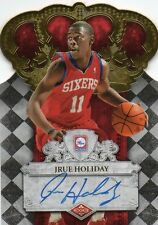 2009-10 JRUE HOLIDAY Panini Crown Royale Autograph Auto Rookie RC 495/599
