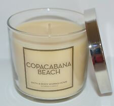 NEW BATH & BODY WORKS COPACABANA BEACH SCENTED CANDLE 4 OZ 1 WICK SMALL HTF