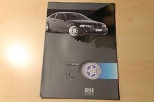 01183) RH Alurad Katalog / Prospekt 09/2000