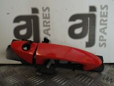 FORD FIESTA 1.25 PETROL 2010 DRIVERS SIDE FRONT EXTERNAL DOOR HANDLE