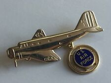 Vintage WWII Era US AIR FORCE Homefront Sweetheart Pin USAF Bombardment Group