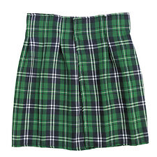St Patricks Day Green Striped Plaid Kilt HALLOWEEN COSTUME DRESS UP UNISEX