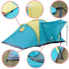 4-6Person Men Waterproof Camping Tent Family Outdoors Hik Double Layer Backpack