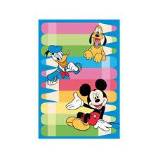 Tappeto Gara di disegno ABC Italia cm 150x220 WD 650 Pluto Paperino Topolino