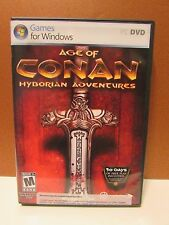 Age of Conan Hyborian Adventures (DVD PC Game) Vista/XP FREE SHIPPING