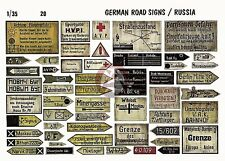 Verlinden 1/35 German Road Signs Operation Barbarossa, Russia WWII [Diorama] 20
