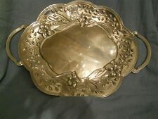 Butterfly Meadow Large Handled Tray by Lenox Metalware