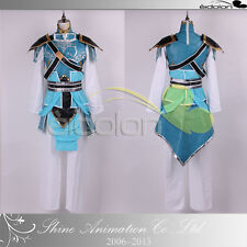 EE0125AD Dynasty Warriors 7/Shin Sangokumusou 7 Zhao Yun Cosplay Costume