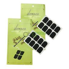 16Pcs Xinzhong 0.3mm Black Clarinet/Soprano Sax Mouthpiece Patches Pads Cushions