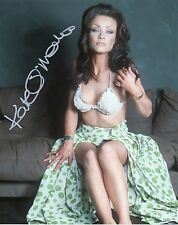 KATE O'MARA Signed 10x8 Photo HAMMER HORROR FRANKENSTEIN  COA