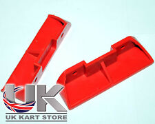 Foot Rest Red x 2 UK KART STORE