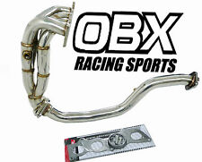 OBX Racing SS Exhaust Manifold Header w/ S-pipe 11-15 Toyota Scion tC 2.5L 4Cyl