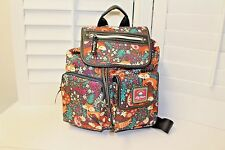 Lily Bloom Backpack Foxy Lady pattern NWT