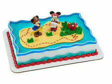 Mickey Minnie Mouse Pirate figurines cake decoration Decoset cake topper set toy