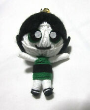 Buttercup Powerpuff  Girl Voodoo String Doll Keychain Ornament Accessory