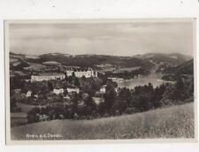 Grein a d Donau Austria 1934 RP Postcard 848a