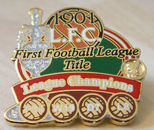 LIVERPOOL FC Victory Pins 1901 LEAGUE CHAMPIONS Badge Maker Danbury Mint