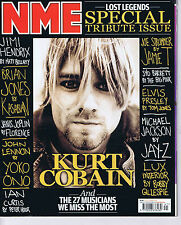 KURT COBAIN / RADIOHEAD / VAMPIRE WEEKEND NME 10 Oct 2009