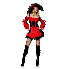 Leg Avenue Sexy Swashbuckler Vixen Pirate Wench Women's Halloween Costume - XL