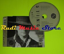 CD Singolo STING This cowboy song Usa 1995 AEM RECORDS 580957-2  mc dvd (S7*)