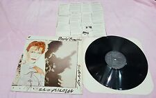 David Bowie Scary Monsters press 1980 Italy lp 33 giri usato black label
