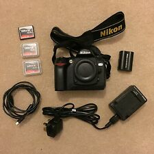 Nikon D D70 6.1MP Digital SLR Camera - Black (Body only) With Accessories