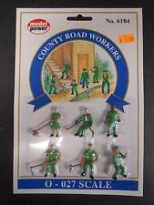 Model Power O Scale County Road Workers Pack (6 Figures) - MP6184