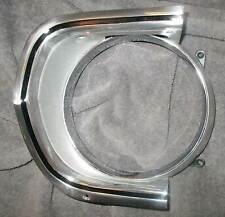 BARRACUDA HEADLIGHT BEZEL RH 67 - POLISHED Cuda Grill S PLYMOUTH HEADLAMP 68