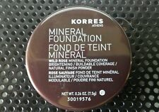 Korres Wild Rose MINERAL  FOUNDATION POWDER (multiple shades please specify)