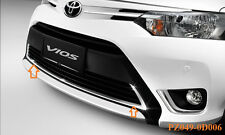 CHROME LOWER FRONT BUMPER COVER TOYOTA 4DOOR VIOS SEDAN 2013-2014 GENUINE PARTS