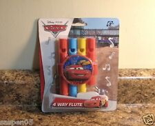 Disney Pixar CARS  Flute 4 Way Musical Instrument NEW